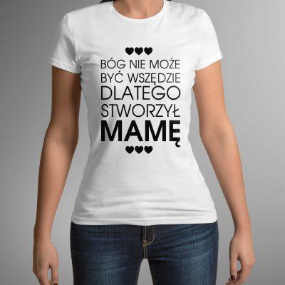 koszulka-z-napisem-bog-stworzyl-b-ddshirt