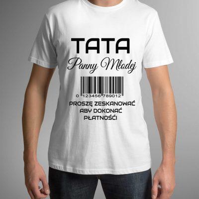 koszulka-meska-tata-panny-mlodej-b-ddshirt