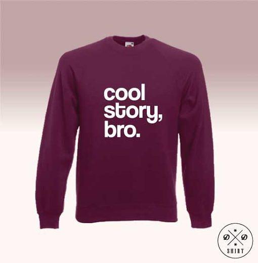 Bluza z nadrukiem - Bro - DDshirt