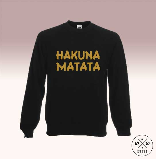 Bluza z nadrukiem - Hakuna - DDshirt
