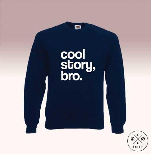 Męska bluza - Bro - DDshirt