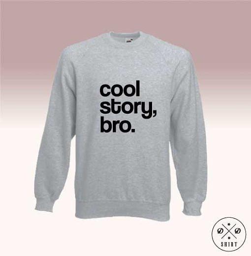 Śmieszna bluza z nadrukiem - Bro - DDshirt