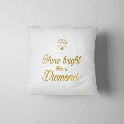 poduszka-z-nadrukiem-diamond-biala-z-ddshirt