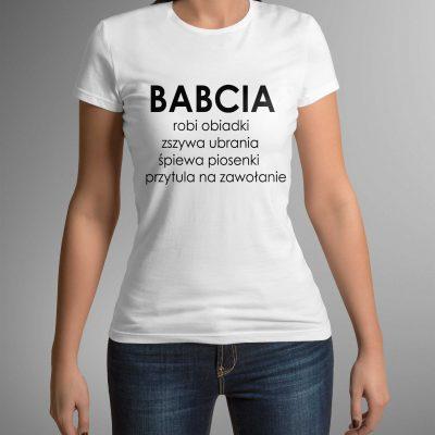 koszulka-damska-babcia-obiadki-b-ddshirt