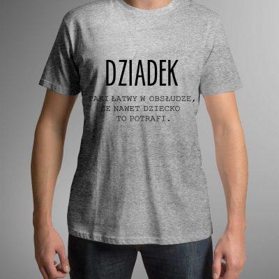 koszulka-meska-dziadek-obsluga-s-ddshirt