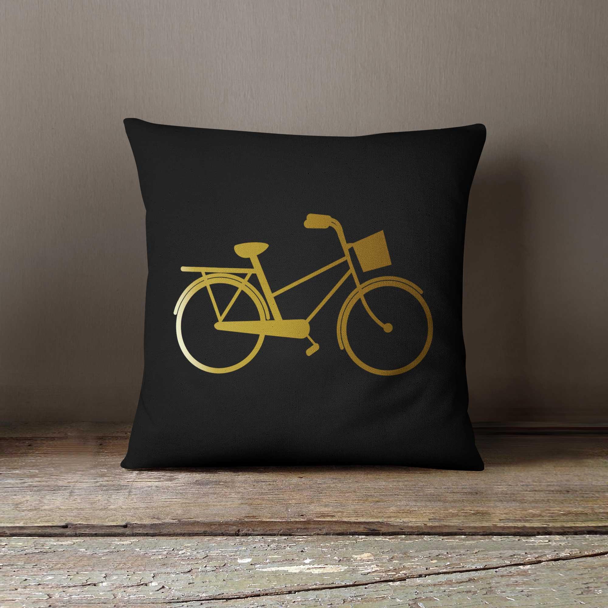 poduszka-z-nadrukiem-rower-czarna-z2-ddshirt