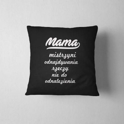 poduszka-z-napisem-mama-mistrzyni-czarna-b-ddshirt