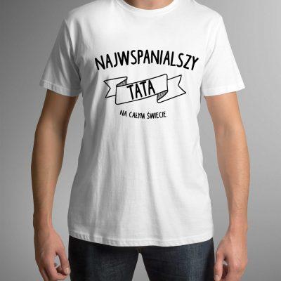 koszulka-z-nadrukiem-wspanialy-tata-b-ddshirt