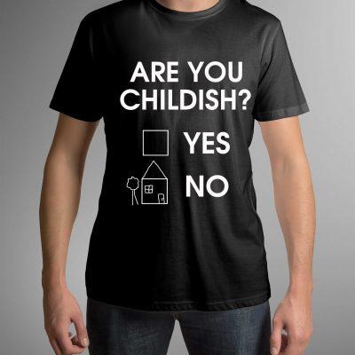koszulka-z-napisem-childish-c-ddshirt