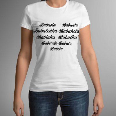 koszulka-z-nadrukiem-babcia-serce-b-ddshirt