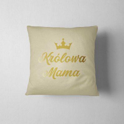 poduszka-z-napisem-królowa-mama-bez-z-ddshirt